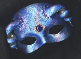 Blue Mask by wylde