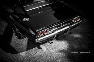 black 68 Charger by AmericanMuscle