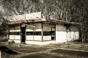 Gas Station III by mikeheer