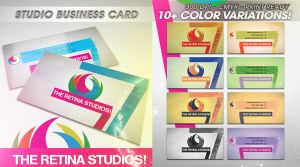 PSD Studio Business Card by retinathemes