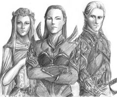 elves sketch by wayleri