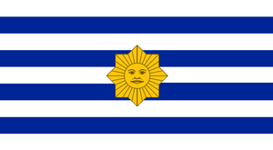 Alt Flag Uruguay - 4 by Rory-The-Lion