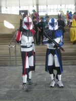 Clone troopers by Ravenfire5