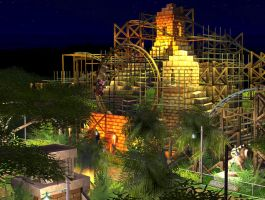 RCT3 disneysea jungle by Coasterdl