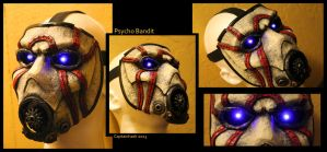 Borderlands Psycho Bandit Mask - Game Version by SKSProps