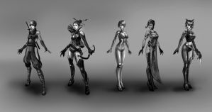 Female Concepts by Baranha