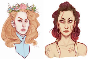 POWER BABES by VOCODERHEATHEN