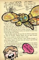 Mothra Attack by kettleart