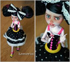 Walking Federica OOAK Doll Rep by kamarza