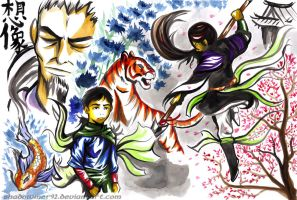 Asian Fables by shadowmer92