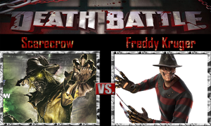 Scarecrow vs Freddy Kruger by SonicPal