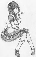 Class Rep, The Maid by leafprojector