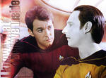 Riker and Data by AnnaProvidence