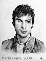 IAN SOMERHALDER as BOONE by martalopezfdez
