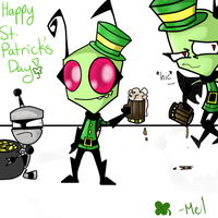 Happy St. Patrick's Day! by MelTheInvader