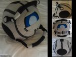 Portal 2: Wheatley Plush by Belle43