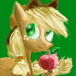 Applejack by BillyGGruff