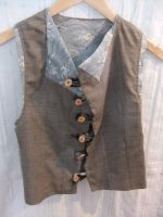 Japanese Fabric Waistcoat by sewn-by-honeybirds