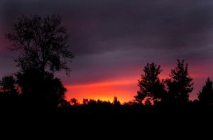 Red Sky Morning by unipeg26