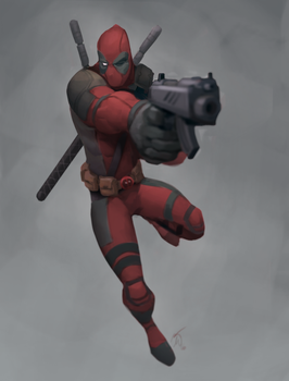 Captain Deadpool by Corey-Smith