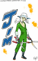 ZOMBIE MANIA CHARACTER SERIES: LEAFCUTTER JIM by MuNafusa
