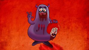 Satanic Grimace by Makinita