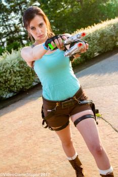 ComiCONN 2017 - Tomb Raider(PS) 02 by VideoGameStupid