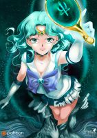 Beautiful Sailor Neptune by Pillara