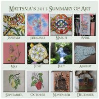 2013 Summary of Art by Mattsma
