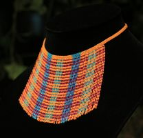 Optical Illusion Necklace by AxmxZ