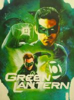 Green Lantern Movie poster by S-Fax