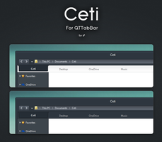 Ceti for QTTabBar by link6155