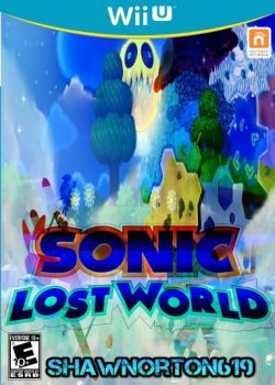 Sonic Lost World Front Cover My Cover by shawnorton619