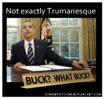 Obama Buck by Conservatoons