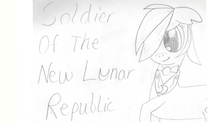 Soldier Of The New Lunar Republic by PerkyPitch