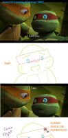 Raphael Confesses to Mikey by Kanon58