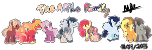 The Apple Family by karsisMF97