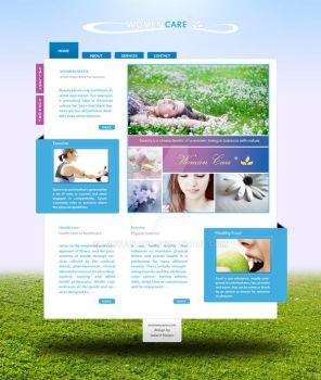 Clean Style Template by LudyFolary