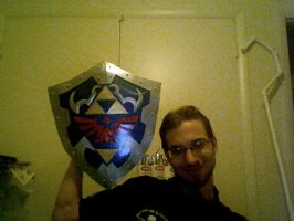 Hylian Shield Complete by Gamoden