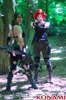 Quiet And Meryl - Metal Gear Solid by IXISerenityIXI