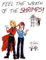 Feel the Wrath of the Shrimps by noot