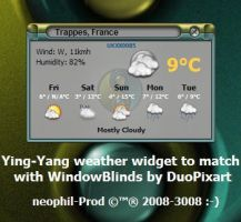 YingYang Weather Widget by neophil