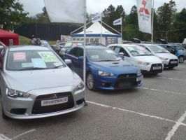 4 Mitsubishi Cars by KDN2197