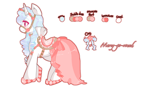 Pony adoptable auction:Marey-Go-Round CLOSED by KyandiPantsu