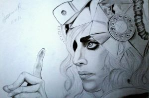 Telephone Gaga by massadesigns