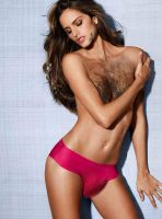 Izabel-Goulart hairy by dialandis