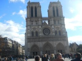 Notre Dame Cathedral by DisneyFan-01