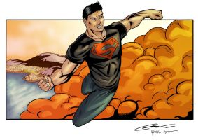 Super-boy Young-art colors by LTartist