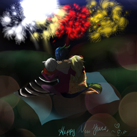 Happy New Year! by EvaLove1