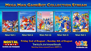 Mega Man Stream Promo Poster by Moelleuh